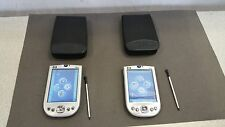 Lot of 2! HP IPAQ RX1950 Handheld PDA WIFI, case stylus