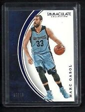 Marc Gasol 2015-16 Immaculate SAPPHIRE Parallel #/10! Memphis Grizzlies ALL-STAR