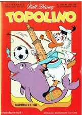 TOPOLINO N.1096 del 28 novembre 1976 - Catalogo BARBIE Cover SAMPDORIA calcio