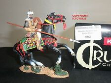 KING AND COUNTRY MK43 CRUSADERS SARACEN MOUNTED WITH LANCE DOWN TOY SOLDIER