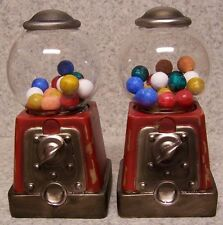 Bookends Memories of Youth Gumball Machine Pair Book Ends NIB