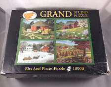 18000 pc Jigsaw Puzzle Grand Studio Bits And Pieces John Sloane Country Seasons