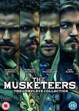 The Musketeers – The Complete Collection (Series 1-3) DVD BBC Period Drama NEW
