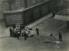 Photo Pendant La Libération de Paris Tank Guerre Août 1944