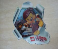 LEGO The LEGO Movie 5002044 Lenticular Sticker Emmet & Wyldstyle from 2014