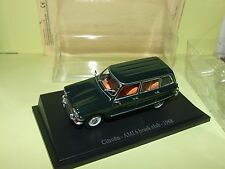 CITROEN AMI 6 BREAK Vert  UNIVERSAL HOBBIES sous blister 1:43