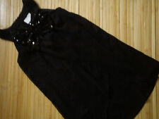 NICE NEXT SEQUIN BLACK PARTY SUMMER GIRL DRESS TUNIC 8 YRS (0.2)