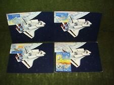 Maximumkarten Schweiz,LURABA 1981,Space Shuttle !
