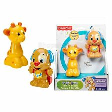 SFK Fisher-Price Laugh and Learn Talk 'n Teach Puppy and Giraffe kids toy