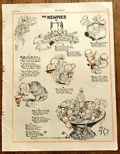 Vintage July 1928 The Kewpies Comic Page Cute Images ! Great for framing