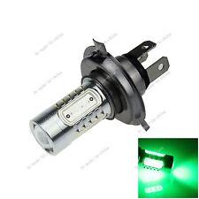 1X H4 Bulb Green 5 COB LED 7.5W  Fog Light Parking Lamp DC 12-24V P43t H108