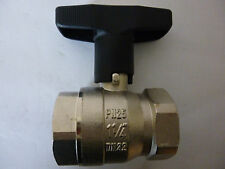 "Wesa ISO-Therm-Kugelhahn IG/IG 1 1/4"" PN25 DN32 MS58 Messing Neu, Art.Nr.: 680"