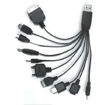 1x Universal 10 in 1 USB Multi Charger Phone Cable For Nokia iPhone Perfect