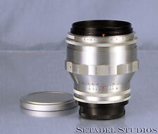 CARL ZEISS BIOTAR 75MM F1.5 CHROME M42 SM SCREW MOUNT LENS +CPS