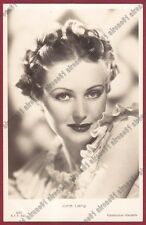 JUNE LANG 07 ATTRICE ACTRICE ACTRESS CINEMA MOVIE USA Cartolina FOTOGRAF. 1937