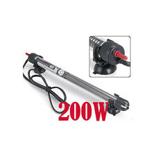 200W SUBERSIBLE WATER HEATER FOR AQUARIUMS FISH TANKS PONDS HEAT WATER