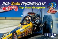 "MPC  Don ""Snake"" Prudhomme 1972 Rear Engine Dragster plastic model kit 1/25"