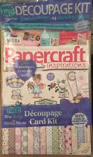 Papercraft Inspirations Decoupage Card Kit Creative Ideas Feb 2015 FREE SHIPPING