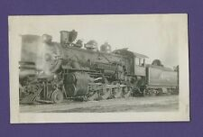 1947 Santa Fe Line ATSF 2-8-0 Steam Locomotive #802 - Vintage B&W Railroad Photo