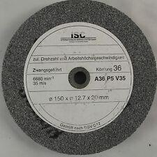 Schleifstein Schleifscheibe 150x12,7x20mm K36