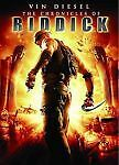 Chronicles of Riddick (DVD, 2004, Full Frame) Judi Dench, Vin Diesel