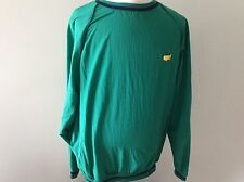 Augusta National Golf Shop Masters Pullover Rain Wind Jacket Slazenger XL Green