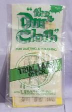 Vintage The Dust Cloth Advertising Packaging jds