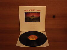 Carl Davis : Music For Television : Vinyl Album : EMI : INS 3021