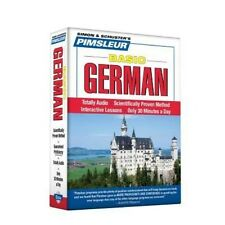 German, Basic: Learn to Speak and Understand German with Pimsleur Language Progr