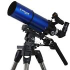 Meade Astronomical Telescope Refractor 80 mm Altazimuth Mount Celestial Viewing
