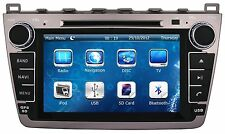 "8"" Car Stereo Auto Radio DVD Player GPS Navigation For MAZDA 6 + Free 3D GPS Map"