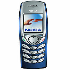 Nokia 6100 Dark Blue Unlocked Original Mobile Phone.