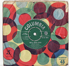 SHIRLEY BASSEY - YOU'LL NEVER KNOW Very rare 1961 UK Single Release!