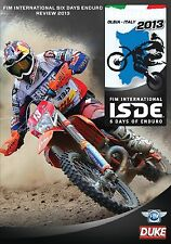 FIM INTERNATIONAL SIX DAYS ENDURO - 2013 REVIEW  DVD - FREE POST IN UK