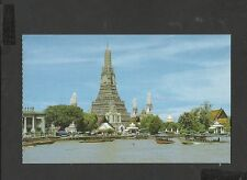 Colour Postcard  Temple of the Dawn Bangkok Thailand unposted