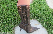 BOOTS: EL DANTES Fashion WESTERN BOOT SPAIN Embellished Fashion Cowboy