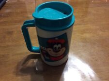 1970's A&W Rootbeer Plastic Travel Mug t-7 with mascot. only one on ebay