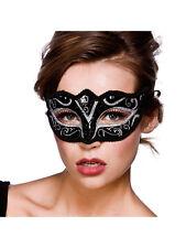 Adult Verona Eyemask Silver Glitter Outfit Fancy Dress Halloween Masquerade Ball