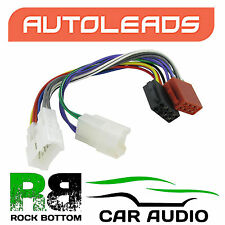 Autoleads PC2-17-4 Toyota Starlet 85 - 99 Car Stereo ISO Harness Adaptor Lead