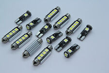 BMW E46 SEDAN Coupe M3 FULL LED Interior Lights 14pcs SMD Bulbs White Error Free