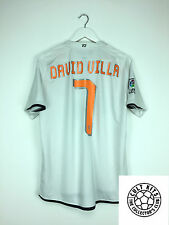 Valencia DAVID VILLA #7 08/09 Home Football Shirt (M) Soccer Jersey Nike