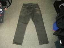"Dr Denim Stanley 132 Jeans Waist 31"" Leg 29"" Black Faded Mens Jeans"