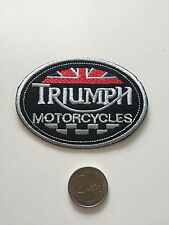 Patch toppa aufnaher Écusson embroidered Triumph thermocollant