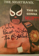 6x4 Signed Photo of WWE Star The Nighthawk
