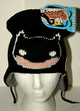 WB POP! Heroes Batman Bat DC Comics Reversible Winter Hat Cap New Tags OSFM 2012