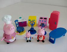 PEPPA PIG 11 PEZZI Cucina Playset