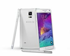 "5.7"" Samsung Galaxy Note4 32GB N910A 3GB RAM Libre TELEFONO MOVIL Blanco White"