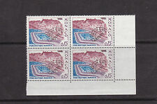 Monaco 1967 Aquatic Stadium 15c MNH Block of 4 SG803a
