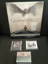 GAME OF THRONES SEASON 5 MINI-MASTER SET WITH BINDER++