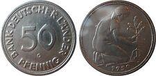 J379  50 Pfennig Bank deutscher Länder  1950 G in SS